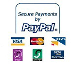 Make a secure payment on Paypal by clicking here